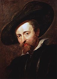 Rubens | Self Portrait, undated | Giclée Canvas Print