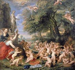 Rubens | Worship of Venus, undated | Giclée Canvas Print