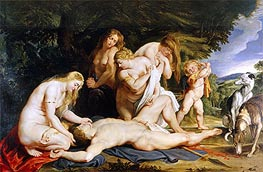 Rubens | The Death of Adonis | Giclée Canvas Print