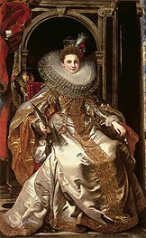 Rubens | Portrait of Marchesa Maria Serra Pallavicino, 1606 | Giclée Canvas Print