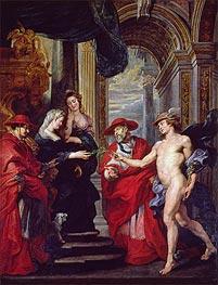 Rubens | The Treaty of Angouleme (The Medici Cycle), c.1621/25 | Giclée Canvas Print