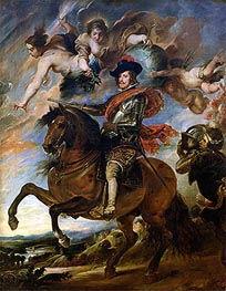 Rubens | Equestrian Portrait of King Philip IV of Spain | Giclée Canvas Print