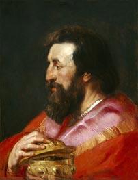 Rubens | One of the Three Magi: Melchior, c.1618 | Giclée Canvas Print