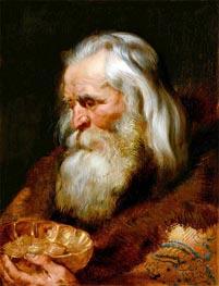 Rubens | One of the Three Magi: Gaspar, c.1618 | Giclée Canvas Print