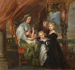 Deborah Kip and Her Children, c.1629/30 by Rubens | Giclée Canvas Print