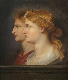 Agrippina and Germanicus, c.1614 by Rubens | Giclée Canvas Print