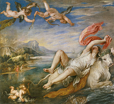 The Rape of Europa, 1628 | Rubens | Painting Reproduction