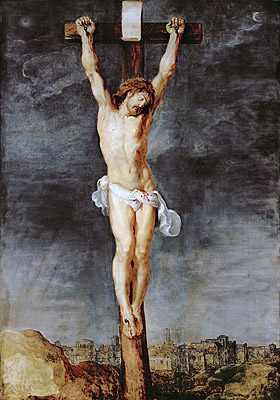 Christ on the Cross, c.1592/33 | Rubens | Painting Reproduction