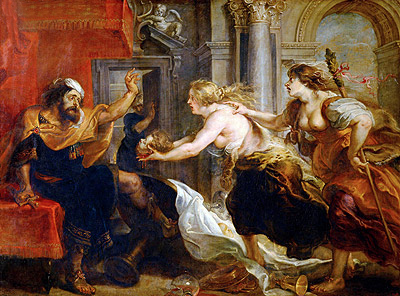 The Banquet of Tereus, c.1636/38 | Rubens | Painting Reproduction