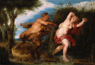 Pan and Syrinx, c.1620/25 | Rubens | Painting Reproduction