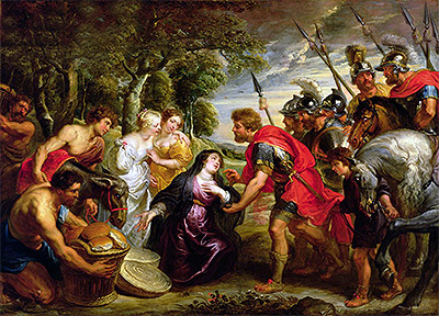 The Meeting of David and Abigail, c.1625/28 | Rubens | Painting Reproduction