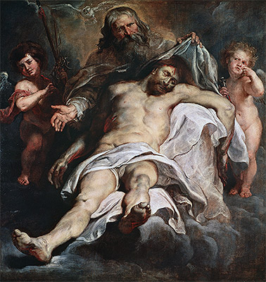 The Holy Trinity, undated | Rubens | Painting Reproduction