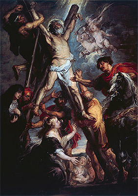The Martyrdom of St. Andrew, 1637 | Rubens | Painting Reproduction