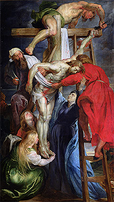 The Descent from the Cross, c.1614/15 | Rubens | Painting Reproduction