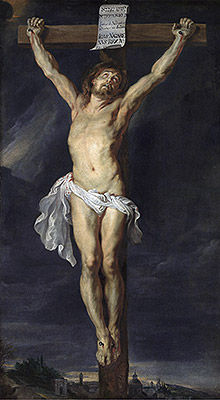 Christ Crucified, undated | Rubens | Painting Reproduction