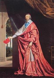 Philippe de Champaigne   Portrait of Cardinal Richelieu, c.1635/40   Giclée Canvas Print