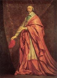 Philippe de Champaigne   Portrait of Cardinal Richelieu, c.1639   Giclée Canvas Print