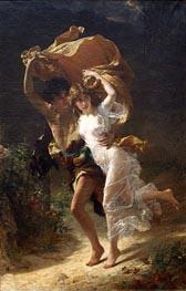 Pierre-Auguste Cot | The Storm, 1880 | Giclée Canvas Print