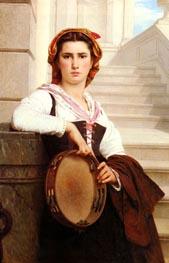 Pierre-Auguste Cot | The Bohemian, 1871 | Giclée Canvas Print