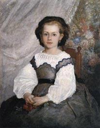 Renoir | Mademoiselle Romaine Lacaux | Giclée Canvas Print