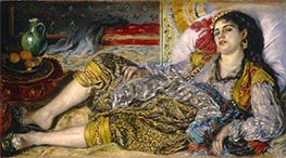 Renoir | Odalisque (An Algerian Woman) | Giclée Canvas Print