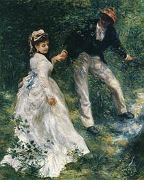 Renoir | The Promenade | Giclée Canvas Print