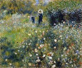 Renoir | Woman with a Parasol in a Garden | Giclée Canvas Print