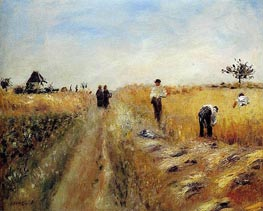 Renoir   The Harvesters   Giclée Canvas Print