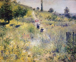Renoir | Path Leading through Tall Grass | Giclée Canvas Print