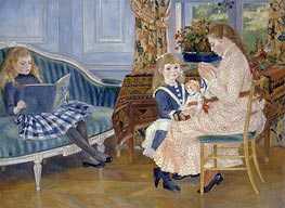 Renoir | Children's Afternoon at Wargemont | Giclée Canvas Print