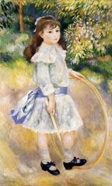 Renoir | Girl with a Hoop | Giclée Canvas Print