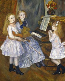 Renoir | The Daughters of Catulle Mendes | Giclée Canvas Print
