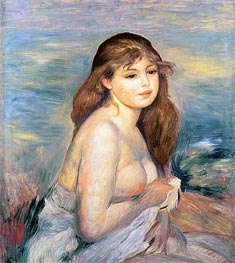 Renoir | After the Bath (Little Bather) | Giclée Canvas Print