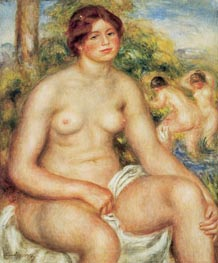 Renoir | Seated Nude | Giclée Canvas Print