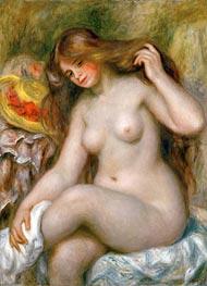 Renoir | Bather with Loose Blonde Hair | Giclée Canvas Print