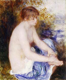 Renoir | Little Blue Nude | Giclée Canvas Print