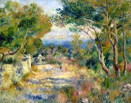 Renoir | L'Estaque | Giclée Canvas Print