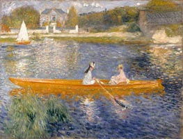 Renoir | The Skiff (La Yole) | Giclée Canvas Print