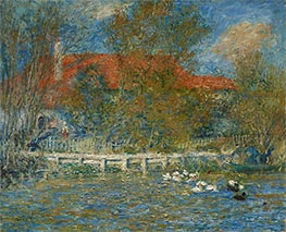 Renoir | The Duck Pond | Giclée Canvas Print