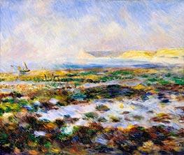 Renoir | Guernsey Seascape, 1883 | Giclée Canvas Print