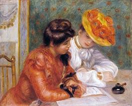 Renoir | The Letter, c.1895/00 | Giclée Canvas Print