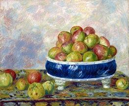 Renoir | Apples in a Dish, 1883 | Giclée Canvas Print