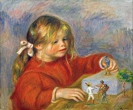Renoir | Claude Renoir at Play, 1905 | Giclée Canvas Print