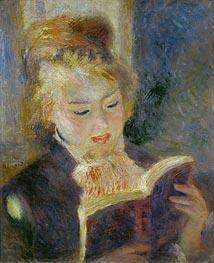 Renoir | Girl Reading, 1874 | Giclée Canvas Print