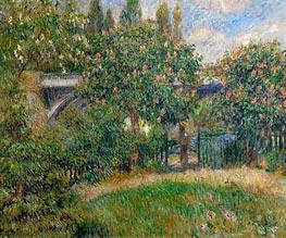Renoir | Railway Bridge at Chatou, 1881 | Giclée Canvas Print