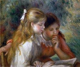 Renoir | The Reading, c.1890/95 | Giclée Canvas Print