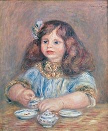 Renoir | Genevieve Bernheim de Villers, 1910 | Giclée Canvas Print