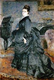 Renoir | Portrait of a Lady (Mme Georges Hartmann), 1874 | Giclée Canvas Print