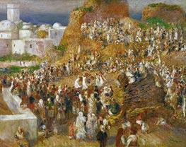 Renoir | Arab Festival (The Mosque Arab Festival), 1881 | Giclée Canvas Print