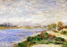 Renoir | The Seine River near Argenteuil, 1873 | Giclée Canvas Print